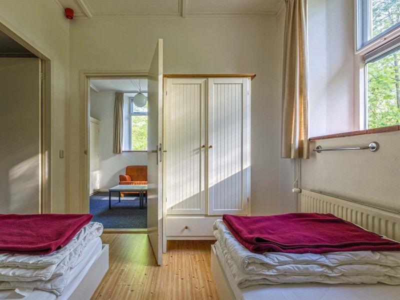 De stafkamer van gebouw B op Meeuwenveen Accommodaties