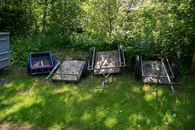 Om de bagage te vervoeren op Meeuwenveen Accommodaties