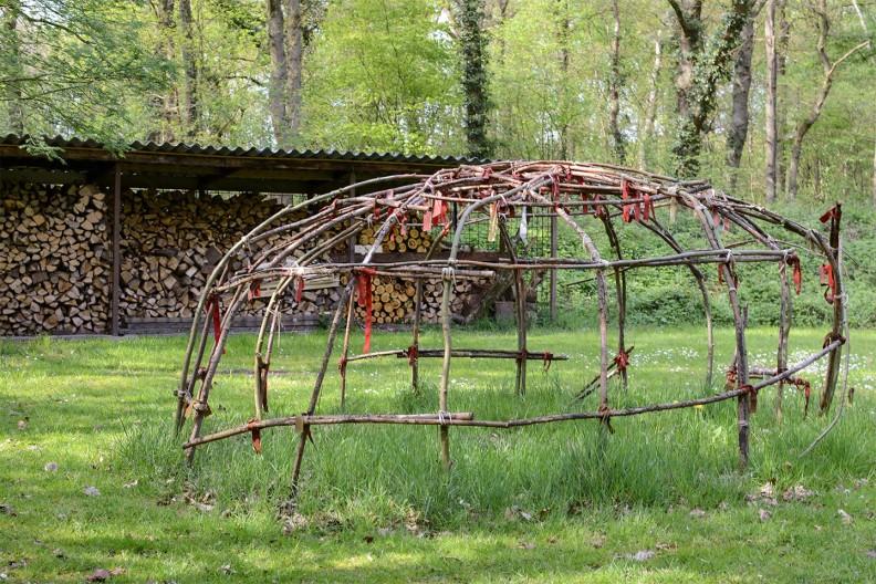 Kamperen met een vuurplaats op Meeuwenveen Accommodaties