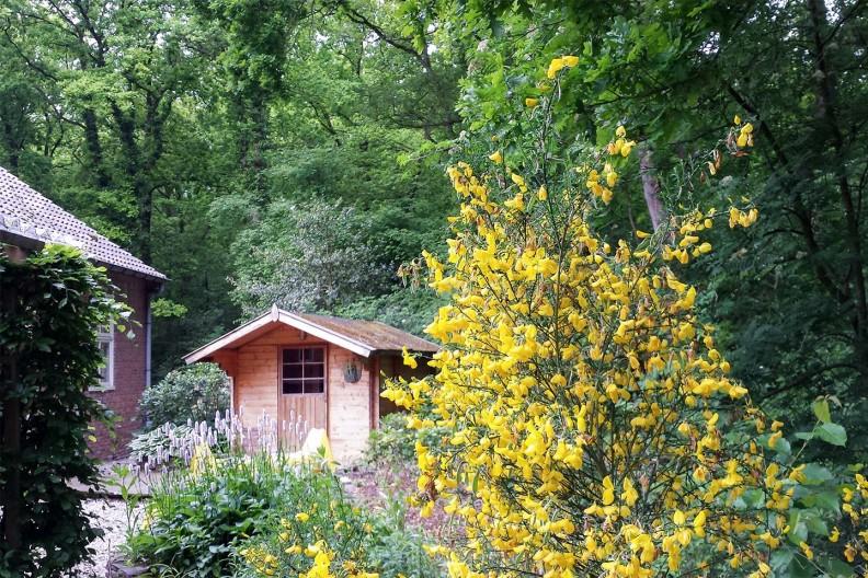De sauna bij gebouw C op Meeuwenveen Accommodaties