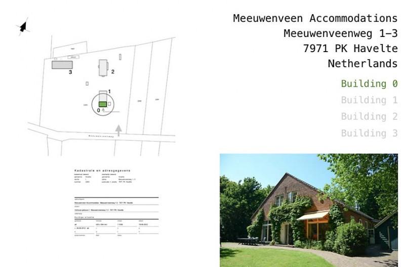 Meeuwenveen Accommodations Floor Map Het Voorhuis