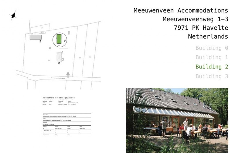 Meeuwenveen Accommodations Floor Map Building 2.jpg