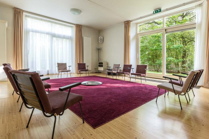 De zaal in het Voorhuis op Meeuwenveen Accommodaties